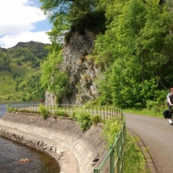 Cycling Trossachs